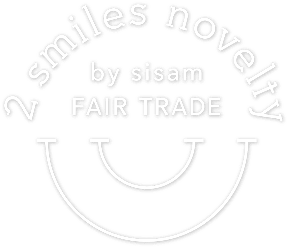 2 smiles novelty by sisam FAIR TRADE